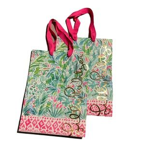 2 Lilly Pulitzer gift bags